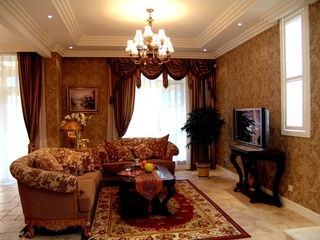 110平新古典三居室欣赏