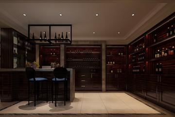 新古典大四居住宅欣赏厨房酒柜