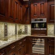 豪华美式风格赏析厨房橱柜