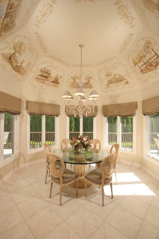 法式别墅装饰套图欣赏阳台