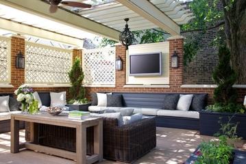 欧式奢华套图欣赏庭院设计