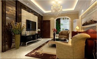 暖色调混搭风格两居欣赏客厅