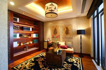 106平东南亚住宅欣赏书房