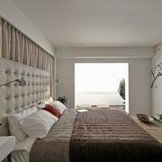 现代风格样板房设计卧室效果