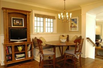 美式别墅套图欣赏餐桌