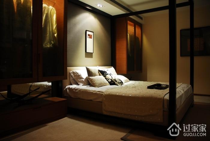 新中式风格床头设计背景墙