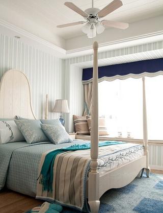 地中海清凉一夏住宅欣赏卧室陈设
