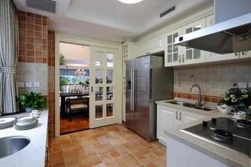 135平简欧舒适复式欣赏厨房