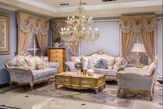 欧式布艺沙发,精致不失优雅