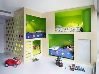 混搭设计波西米亚住宅欣赏儿童房