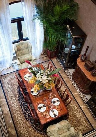 226平欧式古典住宅欣赏餐厅设计