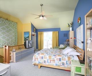 混搭公寓效果图卧室