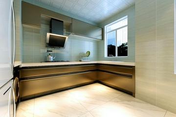 98平新古典两居室欣赏厨房橱柜