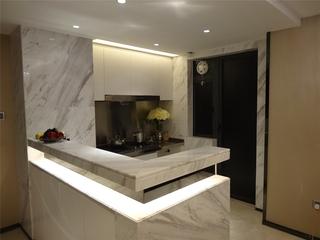 开放式厨房吧台设计效果图 独特空间分区