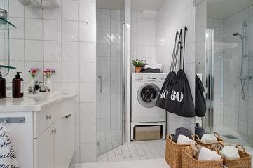 110平超气质宜家三居欣赏淋浴间