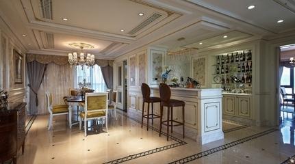 法式奢华住宅欣赏餐厅