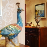 时尚浪漫法式 精美客厅摆件装饰效果图