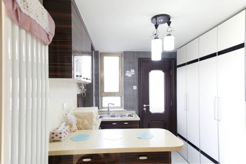 新古典低调奢华欣赏厨房吧台