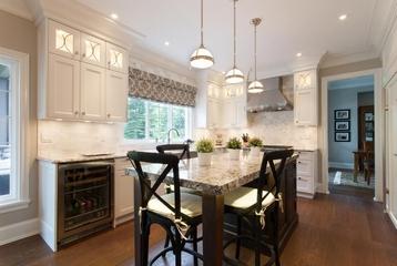 简欧时尚装饰设计效果赏析厨房吧台设计