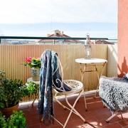 62平北欧舒适公寓欣赏阳台