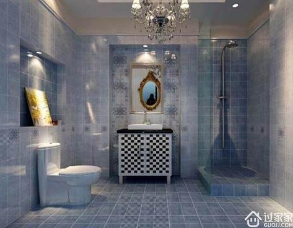 卫生间瓷砖选的好,小卫生间也可以显得尊贵大气!