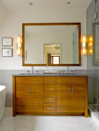 萨克森法式设计风格浴室柜