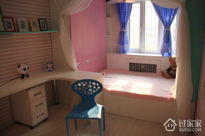 粉丝简约小屋欣赏卧室榻榻米设计