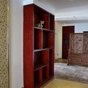韵味中式住宅欣赏卧室储物柜