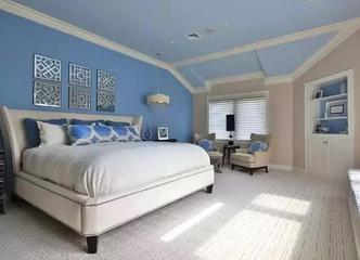 不知道卧室墙面刷什么颜色好?看这里!四款卧室墙面颜色效果图