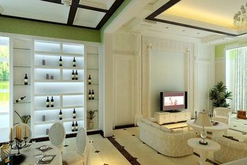 120平简欧大宅设计欣赏餐厅