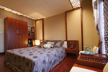 东南亚奢华装修卧室