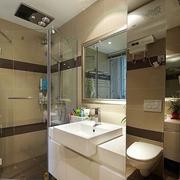 卫生间浴室柜装修效果图 简单与纯净