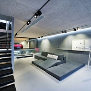 现代港式设计沙发背景