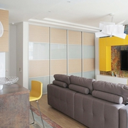 简约单身公寓设计客厅
