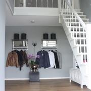 现代黑白灰别墅套图楼梯