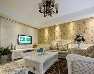 92平奢华欧式三居室欣赏