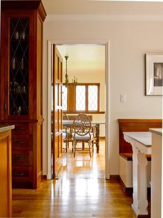 萨克森法式设计风格餐厅门