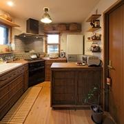 40平日式超牛搭配欣赏厨房全景