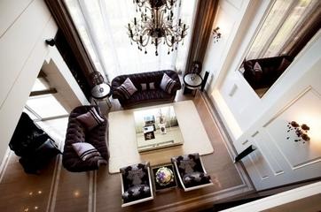 新古典复式复古公寓欣赏