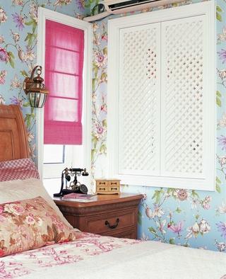 混搭风格温馨住宅欣赏卧室
