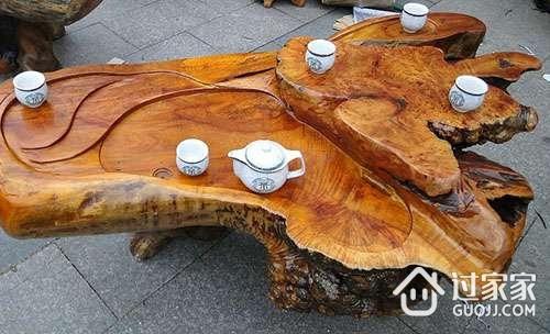 红木根雕茶几的价格 红木根雕茶几的选购