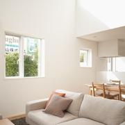 144平日式风格别墅欣赏客厅