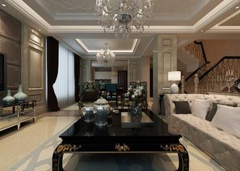 新古典大四居住宅欣赏客厅背景墙