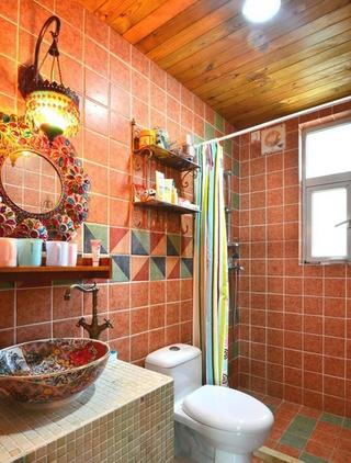 多彩异域混搭住宅欣赏卫生间