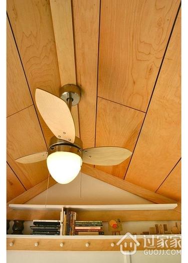简约精致小木屋欣赏隔断吊顶