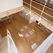 78平清爽日式风欣赏餐厅设计