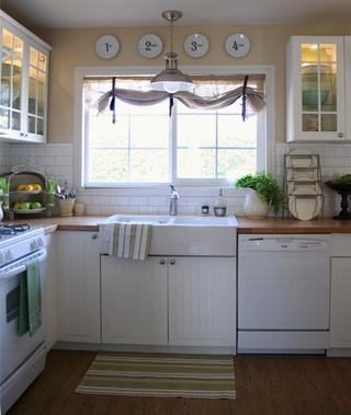 宜家风格住宅效果图欣赏厨房陈设