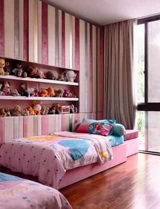 现代别墅效果图儿童房