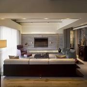 品味高端简约住宅欣赏客厅陈设