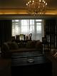 欧式风格复式楼客厅窗帘